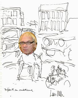 Lars Vilks som rondellhund